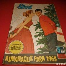 Tebeos: SISI - ALMANAQUE PARA 1963 - BRUGUERA. Lote 237178965