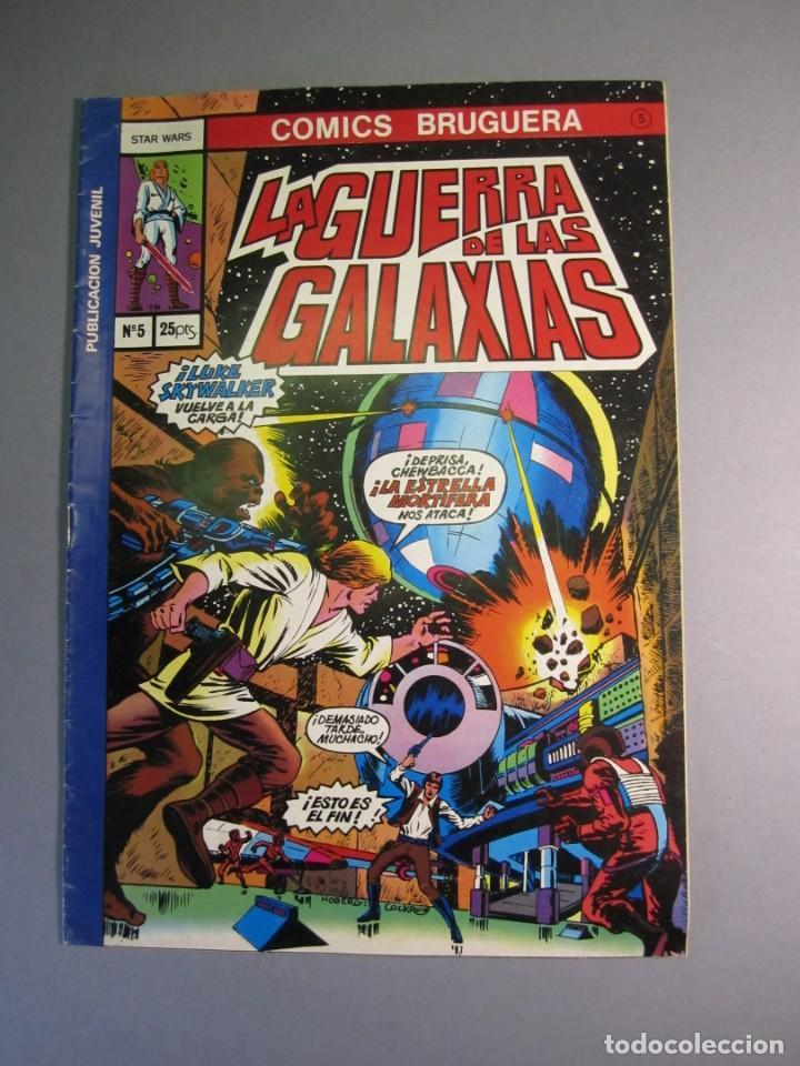 STAR WARS (1977, BRUGUERA) -LA GUERRA DE LAS GALAXIAS- 5 · XII-1977 · LA GUERRA DE LAS GALAXIAS (Tebeos y Comics - Bruguera - Otros)