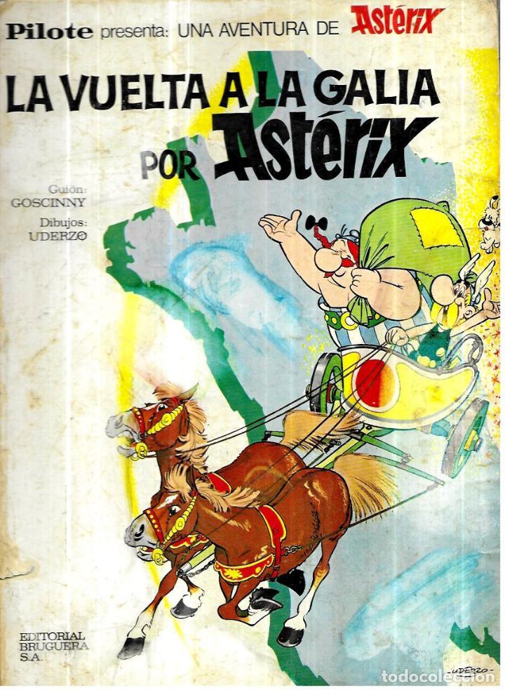 LA VUELTA A LA GALIA POR ASTERIX - BRUGUERA 1969 (Tebeos y Comics - Bruguera - Otros)