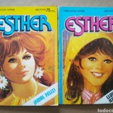 Tebeos: LOTE ESTHER Y SU MUNDO, FORMATO BOLSILLO (BRUGUERA, 1982-1983). NUMEROS 18-21.. Lote 116370522
