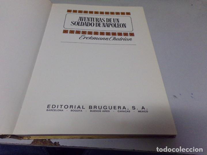Tebeos: AVENTURAS DE UN SOLDADO DE NAPOLEON. ERCKMANN CHATRIAN. COLECCION HISTORIAS COLOR Nº 7 - Foto 2 - 237358450