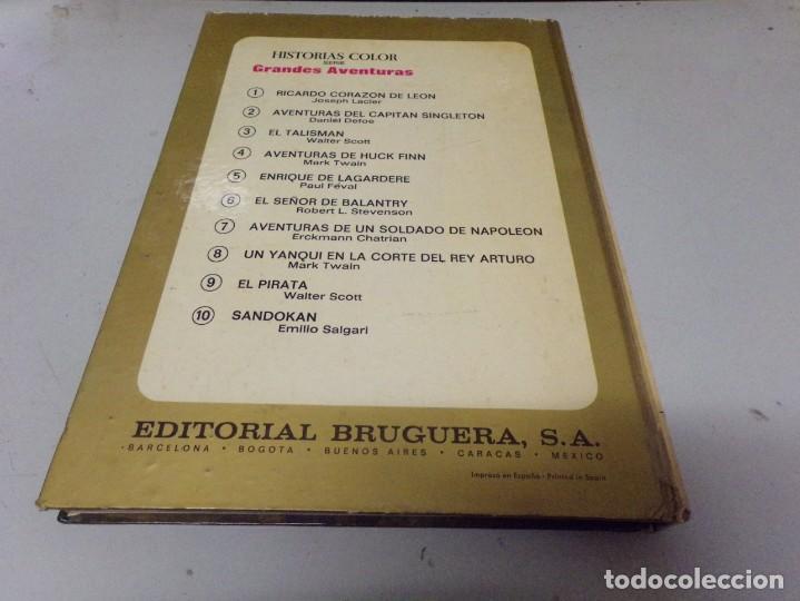 Tebeos: AVENTURAS DE UN SOLDADO DE NAPOLEON. ERCKMANN CHATRIAN. COLECCION HISTORIAS COLOR Nº 7 - Foto 5 - 237358450