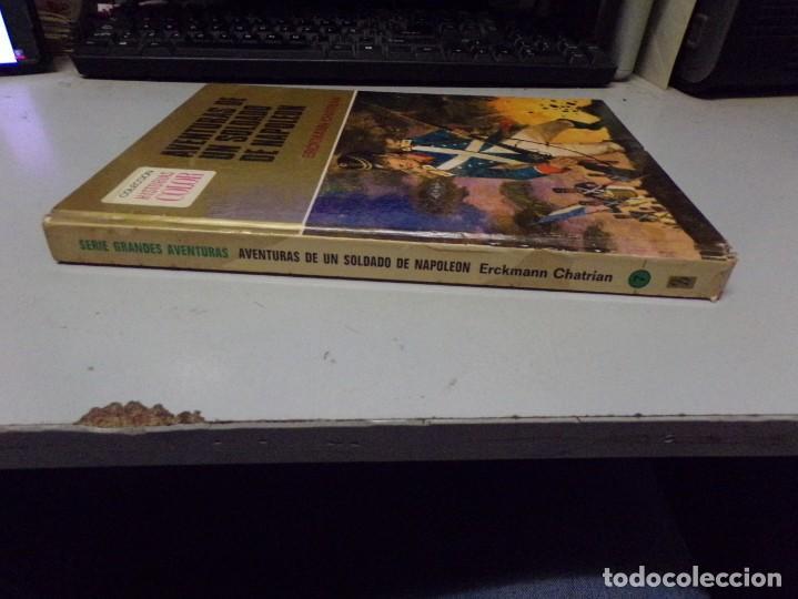 Tebeos: AVENTURAS DE UN SOLDADO DE NAPOLEON. ERCKMANN CHATRIAN. COLECCION HISTORIAS COLOR Nº 7 - Foto 6 - 237358450