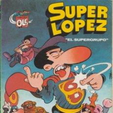 Tebeos: CÓMIC SUPERLÓPEZ Nº 2 - SL EDICIONES.B 1ª REIMPRESION 1990 FORMATO PEQUEÑO (ORIG. 1979). Lote 237412160