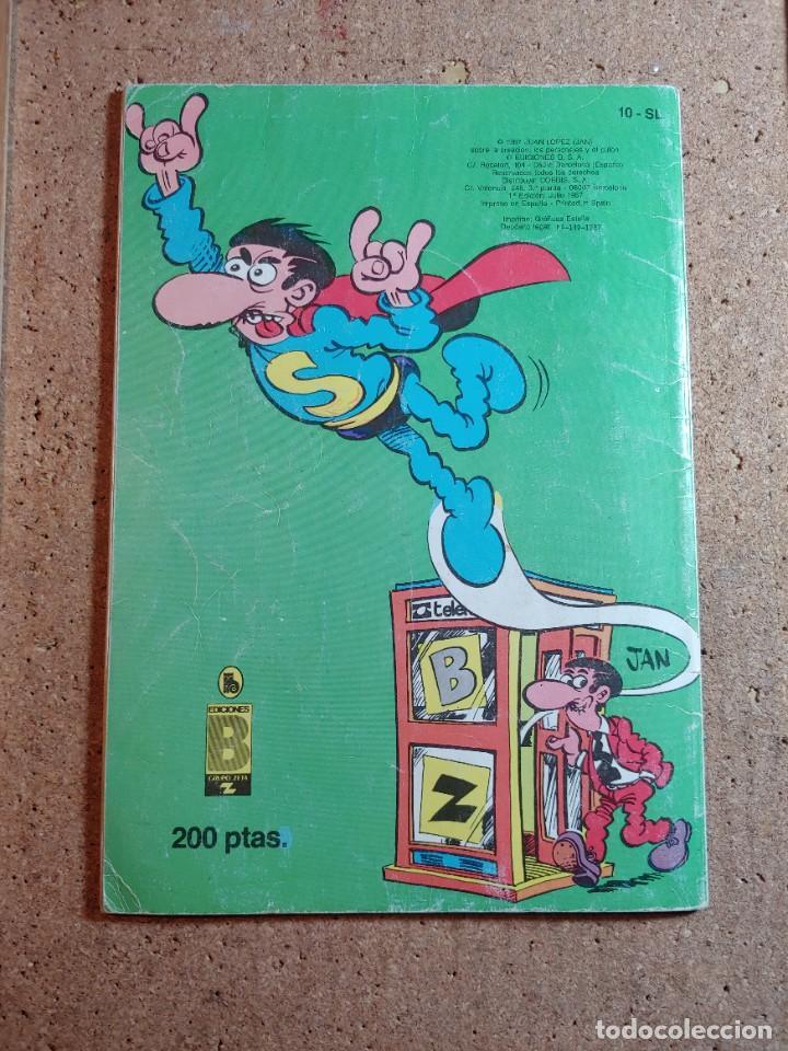 Tebeos: COMIC DE OLE SUPER LOPEZ EN AL CENTRO DE LA TIERRA DEL AÑO 1987 Nº 10 - SL - Foto 2 - 237657495