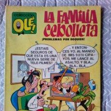Tebeos: OLE. Nº 4 - LA FAMILIA CEBOLLETA AÑO 1981 BRUGUERA. Lote 237725610