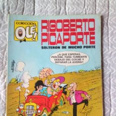 Tebeos: OLE. Nº 7 RIGOBERTO PICAPORTE AÑO 1981 BRUGUERA. Lote 237726155