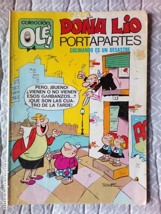 OLE. Nº 27 DOÑA LIO PORTAPORTES AÑO 1979 BRUGUERA (Tebeos y Comics - Bruguera - Ole)