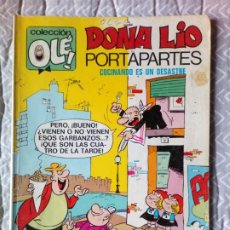 Tebeos: OLE. Nº 27 DOÑA LIO PORTAPORTES AÑO 1979 BRUGUERA. Lote 237728495