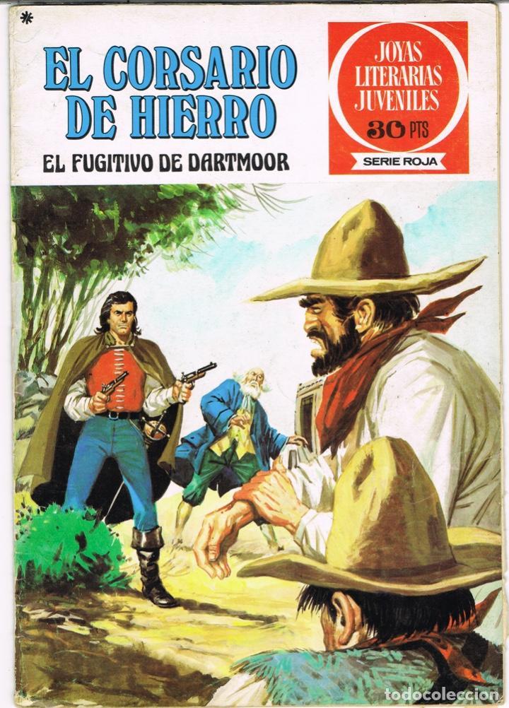EL CORSARIO DE HIERRO EL FUGITIVO DE DARTMOOR. JOYAS LITERARIAS JUVENILES SERIE ROJA Nº 26 (Tebeos y Comics - Bruguera - Corsario de Hierro)