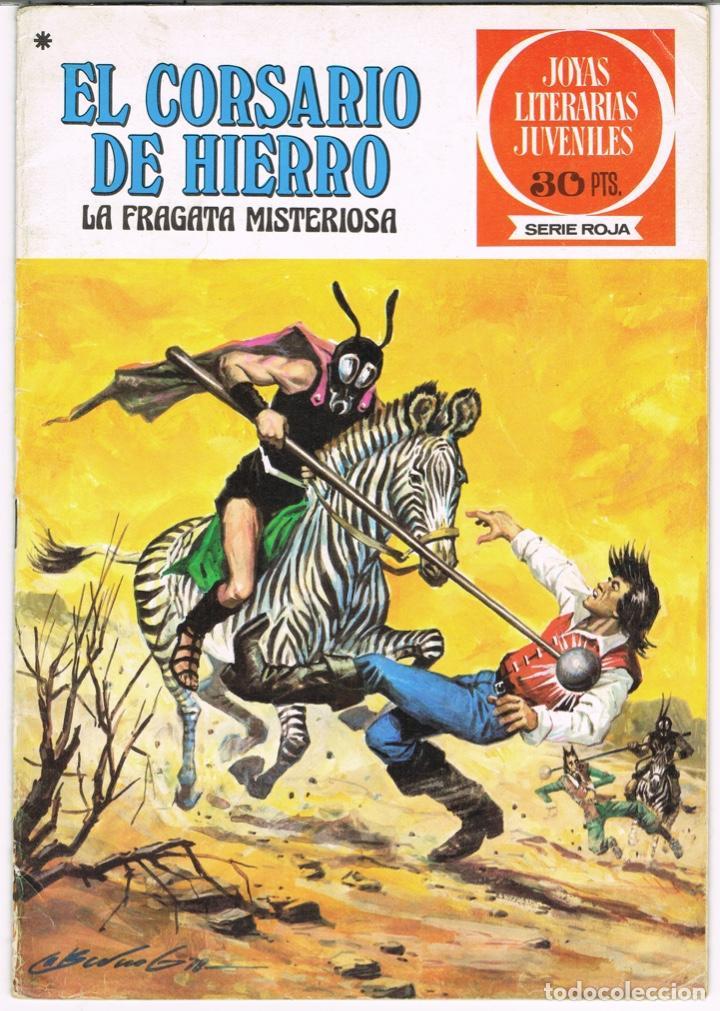 EL CORSARIO DE HIERRO LA FRAGATA MISTERIOSA. JOYAS LITERARIAS JUVENILES SERIE ROJA Nº 52 (Tebeos y Comics - Bruguera - Corsario de Hierro)