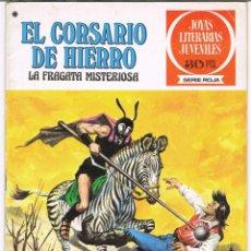 Tebeos: EL CORSARIO DE HIERRO LA FRAGATA MISTERIOSA. JOYAS LITERARIAS JUVENILES SERIE ROJA Nº 52. Lote 237854595