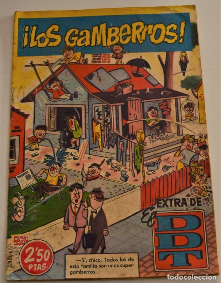 EXTRA EL DDT - ¡LOS GAMBERROS! - BRUGUERA AÑO 1960 (Tebeos y Comics - Bruguera - DDT)
