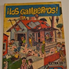 Tebeos: EXTRA EL DDT - ¡LOS GAMBERROS! - BRUGUERA AÑO 1960. Lote 237870100