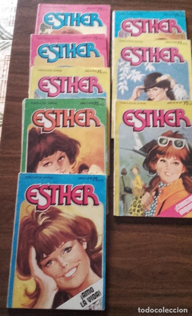 LOTE 8 EJEMPLARES ESTHER BOLSILLO EDITORIAL BRUGUERA (Tebeos y Comics - Bruguera - Esther)