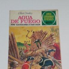 Tebeos: JOYAS LITERARIAS JUVENILES - ELLIOT DOOLEY - AGUA DE FUEGO - Nº 51 - 1972. Lote 238106280