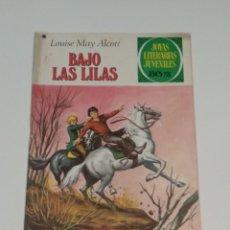Tebeos: JOYAS LITERARIAS JUVENILES - LOUISE MAY ALCOTT - BAJO LAS LILAS - Nº 169 - 1978. Lote 238106490