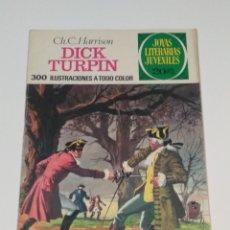 Tebeos: JOYAS LITERARIAS JUVENILES - CH. C.HARRISON -DICK TURPIN - Nº 38 - 1975. Lote 238107890