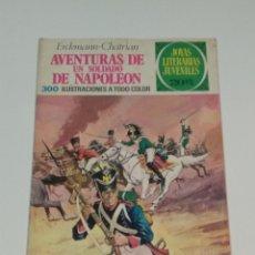 Tebeos: JOYAS LITERARIAS JUVENILES -ERCKMANN-CHATRIAN- LAS AVENTURAS DE UN SOLDADO DE NAPOLEON- Nº 15 - 1974. Lote 238108115
