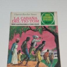Tebeos: JOYAS LITERARIAS JUVENILES - HARRIET BEECHER STOWE - LA CABAÑA DEL TIO TOM -Nº 18 - 1974. Lote 238108305
