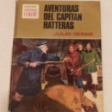 Tebeos: COL. HISTORIAS COLOR - AVENTURAS DEL CAPITAN HATTERAS. JULIO VERNE - BRUGERA 1.974. Lote 238134605