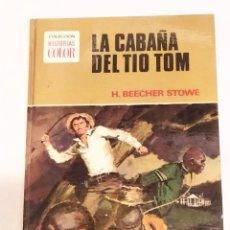 Tebeos: COL. HISTORIAS COLOR - LA CABAÑA DEL TIO TOM. BEECHER STOWE - BRUGERA 1.972. Lote 238135430