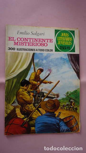 JOYAS LITERARIAS JUVENILES NUMERO 174 EL CONTINENTE MISTERIOSO (Tebeos y Comics - Bruguera - Joyas Literarias)
