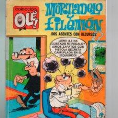 Livros de Banda Desenhada: OLE Nº 18 2ª EDICION 1975. NUMERO EN LOMO . MORTADELO Y FILEMON. BRUGUERA. Lote 238174505