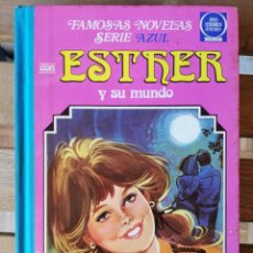 Livros de Banda Desenhada: ESTHER Y SU MUNDO 7 FAMOSAS NOVELAS SERIE AZUL JOYAS LITERARIAS JUVENILES 1983 PURITA CAMPOS. Lote 238247865