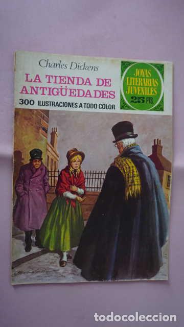 1 EDICION JOYAS LITERARIAS JUVENILES NUMERO 155 LA TIENDA DE ANTIGÜEDADES (Tebeos y Comics - Bruguera - Joyas Literarias)