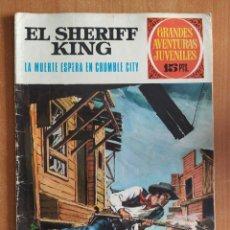 Tebeos: EL SHERIFF KING. LA MUERTE ESPERA EN CRUMBLE CITY. GRANDES AVENTURAS JUVENILES. EDITORIAL BRUGUERA.. Lote 238267665