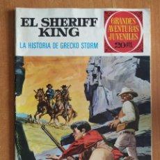 Tebeos: EL SHERIFF KING. LA HISTORIA DE GRECKO STORM. GRANDES AVENTURAS JUVENILES. EDITORIAL BRUGUERA.. Lote 238267850