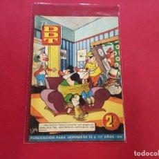 Tebeos: DDT Nº 13 - SERIE 1 - BRUGUERA - 1950- MUY BUEN ESTADO-. Lote 238434330