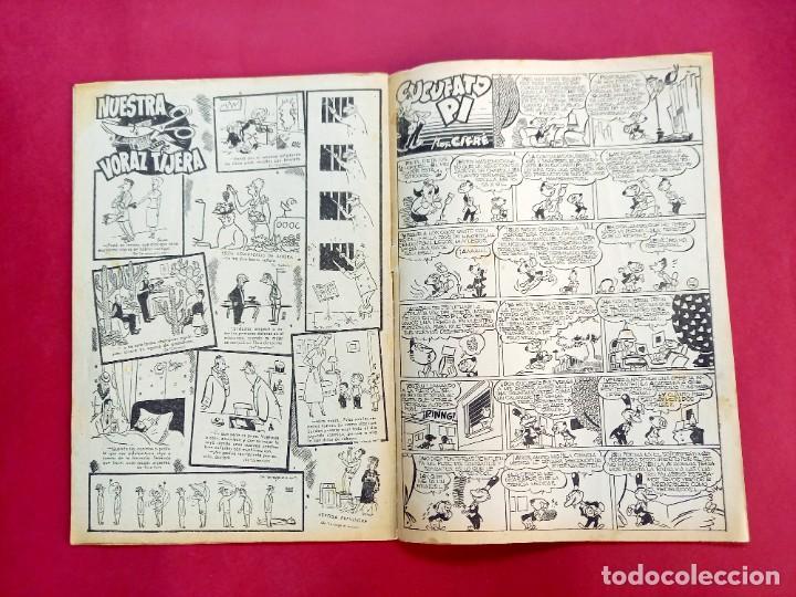 Tebeos: DDT Nº 13 - SERIE 1 - BRUGUERA - 1950- MUY BUEN ESTADO- - Foto 4 - 238434330