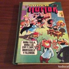 Tebeos: LIBRO SUPER HUMOR VOLUMEN XVIII 18 (1982) MORTADELO, DOÑA TECLA, DOÑA LIO, ZIPI ZAPE,. Lote 238566965