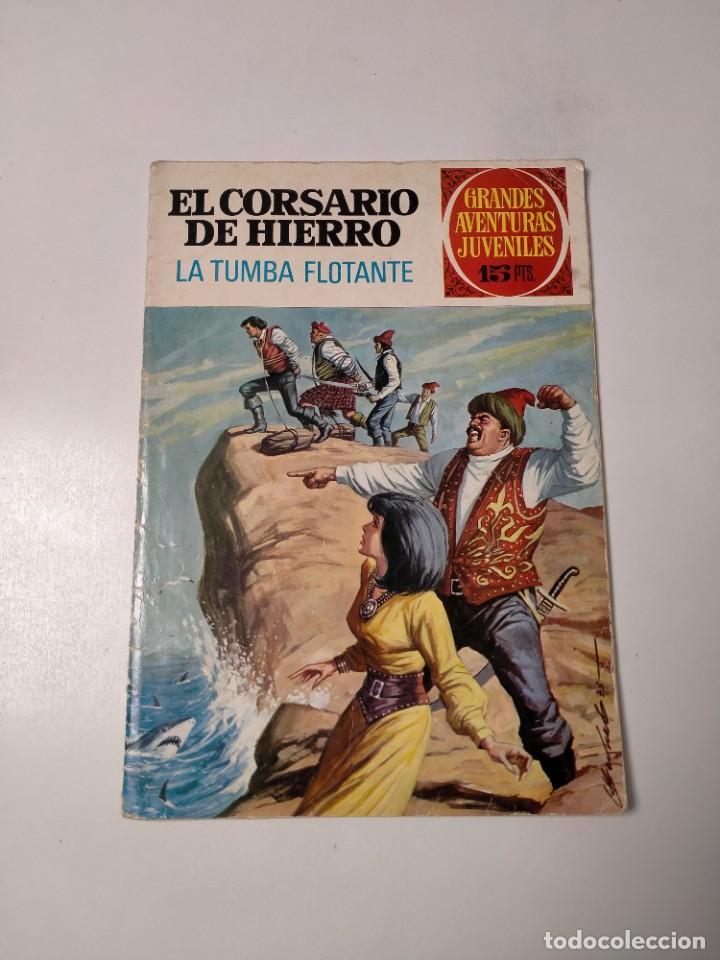 EL CORSARIO DE HIERRO NÚMERO 49 GRANDES AVENTURAS JUVENILES EDITORIAL BRUGUERA (Tebeos y Comics - Bruguera - Corsario de Hierro)