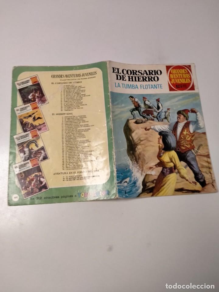 Tebeos: El Corsario de Hierro número 49 Grandes Aventuras Juveniles Editorial Bruguera - Foto 3 - 238661215