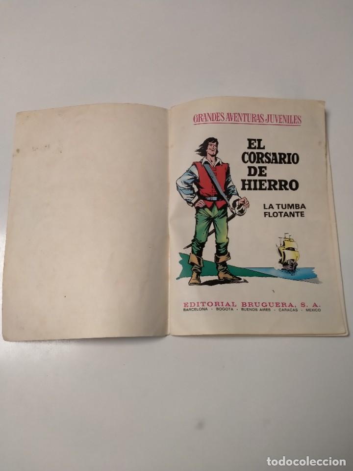 Tebeos: El Corsario de Hierro número 49 Grandes Aventuras Juveniles Editorial Bruguera - Foto 4 - 238661215