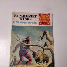 Tebeos: EL SHERIFF KING NÚMERO 26 GRANDES AVENTURAS JUVENILES EDITORIAL BRUGUERA. Lote 238662570