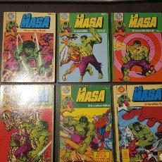 Tebeos: COMICS - POCKET DE ASES 2, 4, 7, 10, 13, 26 - LA MASA - EL INCREIBLE HULK. Lote 238824040