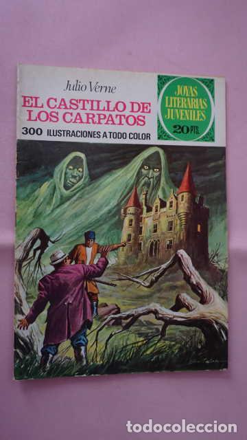1 EDICION JOYAS LITERARIAS JUVENILES NUMERO 128 EL CASTILLO DE LOS CARPATOS (Tebeos y Comics - Bruguera - Joyas Literarias)