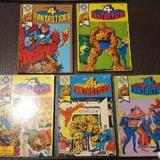 Tebeos: COMICS - POCKET DE ASES 11, 12, 15, 18, 24 - LOS 4 FANTASTICOS - EDITORIAL BRUGUERA. Lote 238849260