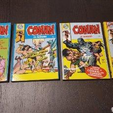 Tebeos: COMICS - POCKET DE ASES 8, 19, 21, 22 - CONAN EL BARBARO - EDITORIAL BRUGUERA. Lote 238877560
