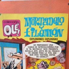Tebeos: MORTADELO Y FILEMÓN EXPLOSIONES EXPLOSIVAS. COLECCIÓN OLÉ!. EDITORIAL BRUGUERA, S.A.. Lote 239365100