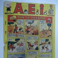 Tebeos: A.E.I. Nº 1 DON TU. CAZADOR 1946 ALBUM DE HISTORIETAS INFANTILES BRUGUERA MUY RARO. Lote 239436125