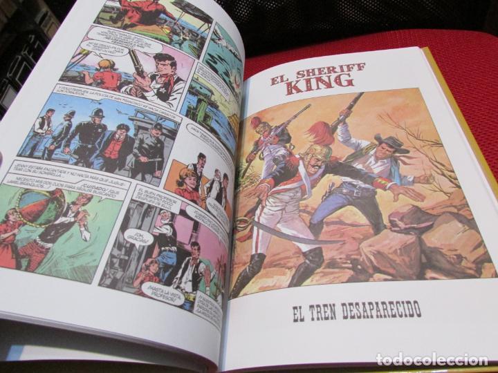 Tebeos: El sheriff King -Víctor Mora y F. Díaz, volumen1 - Foto 4 - 239469570