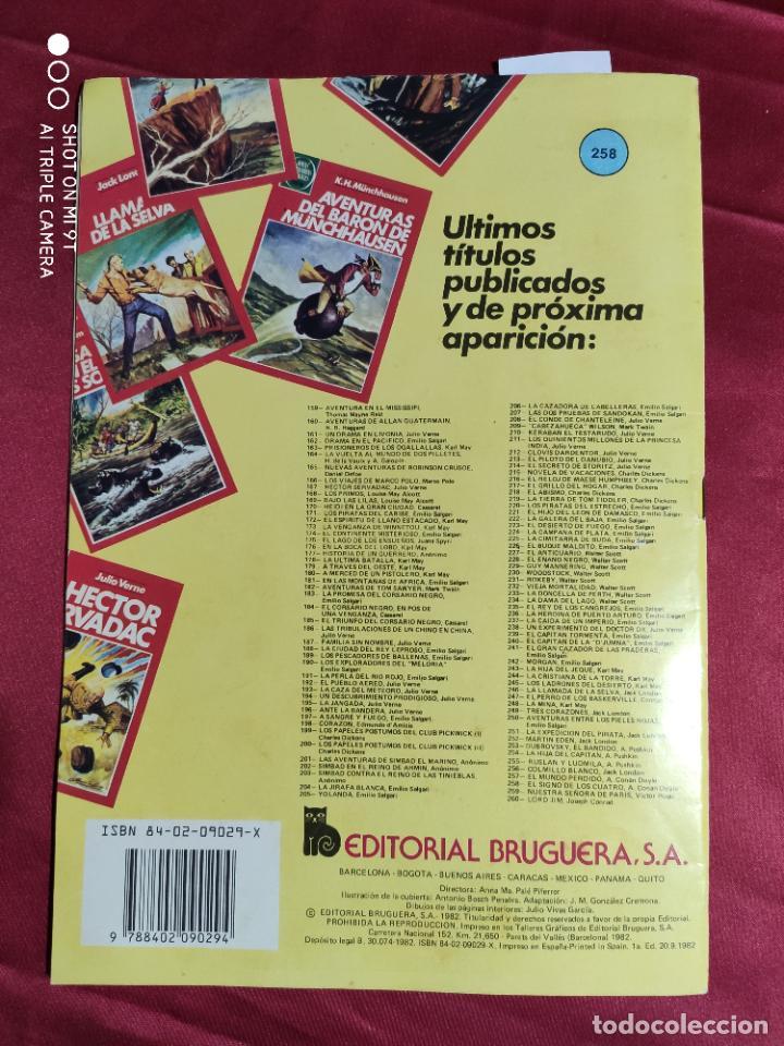 Tebeos: JOYAS LITERARIAS JUVENILES. Nº 258. EL SIGNO DE LOS CUATRO. BRUGUERA . 1ª EDICION - Foto 4 - 239514715