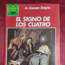 BDs: JOYAS LITERARIAS JUVENILES. Nº 258. EL SIGNO DE LOS CUATRO. BRUGUERA . 1ª EDICION. Lote 239514715