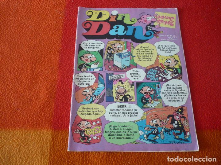 DIN DAN Nº 356 REVISTA JUVENIL BRIGUERA IBAÑEZ (Tebeos y Comics - Bruguera - Din Dan)