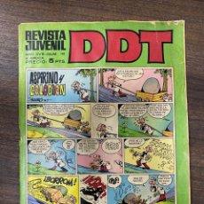 BDs: DDT. REVISTA JUVENIL. AÑO XVIII - Nº 110 - III EPOCA. EDITORIAL BRUGUERA. Lote 239588080